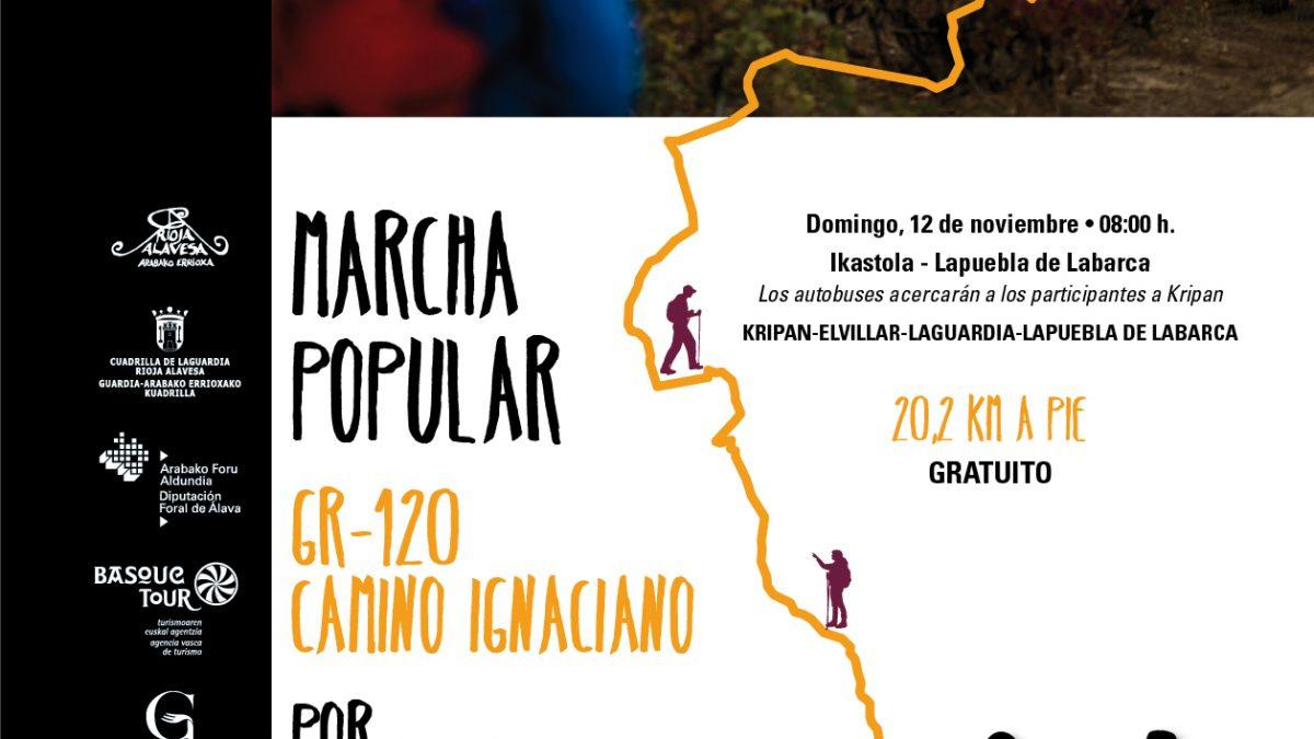 Marcha Popular Camino Ignaciano 12.11.2017