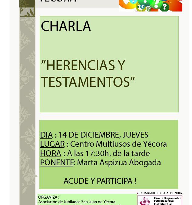 charla Yécora 17 - Herencias y testamentos (1)