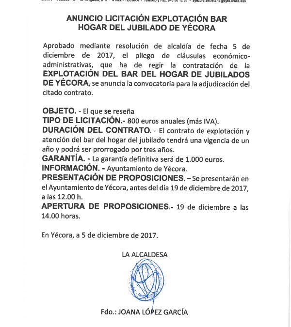 licitacion-bar-hogar-jubilado-yecora-rioja-alavesa