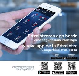 nueva app móvil de a ertzaintza