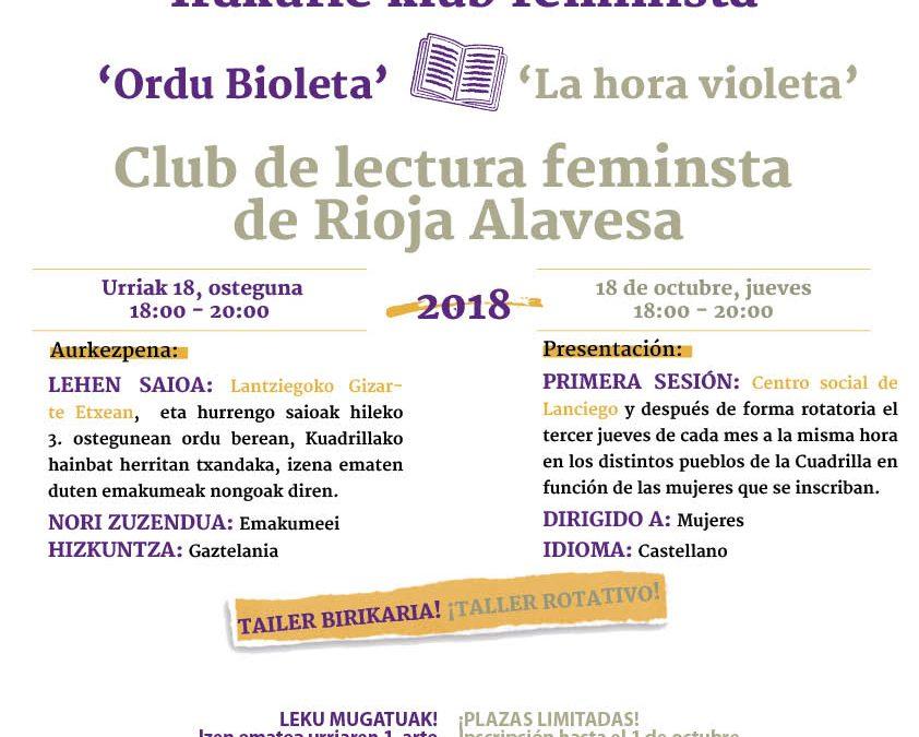 Club de Lectura Feminista de Rioja Alavesa / Arabako Errioxako Irakurle Klub Feminista